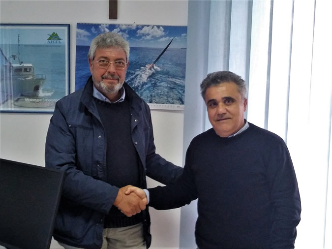 Foto Chiavaroli con Olivieri