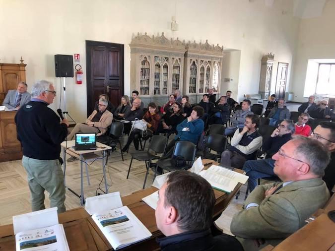 Nella foto i partecipanti al workshop