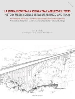 Copertina del libro - La Storia incontra la Scienza tra l'Abruzzo e il Texas