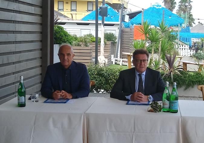 Il Direttore Generale dell'Arta, Maurizio Dionisio e il Sindaco di Pescara, Carlo Masci